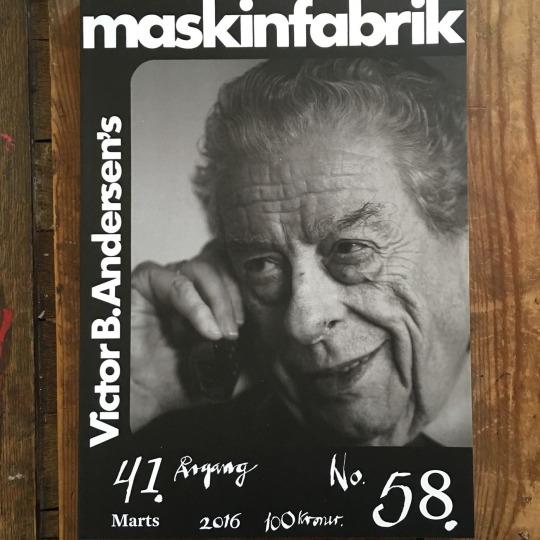 Victor B. Andersen'sMaskinfabrik#58