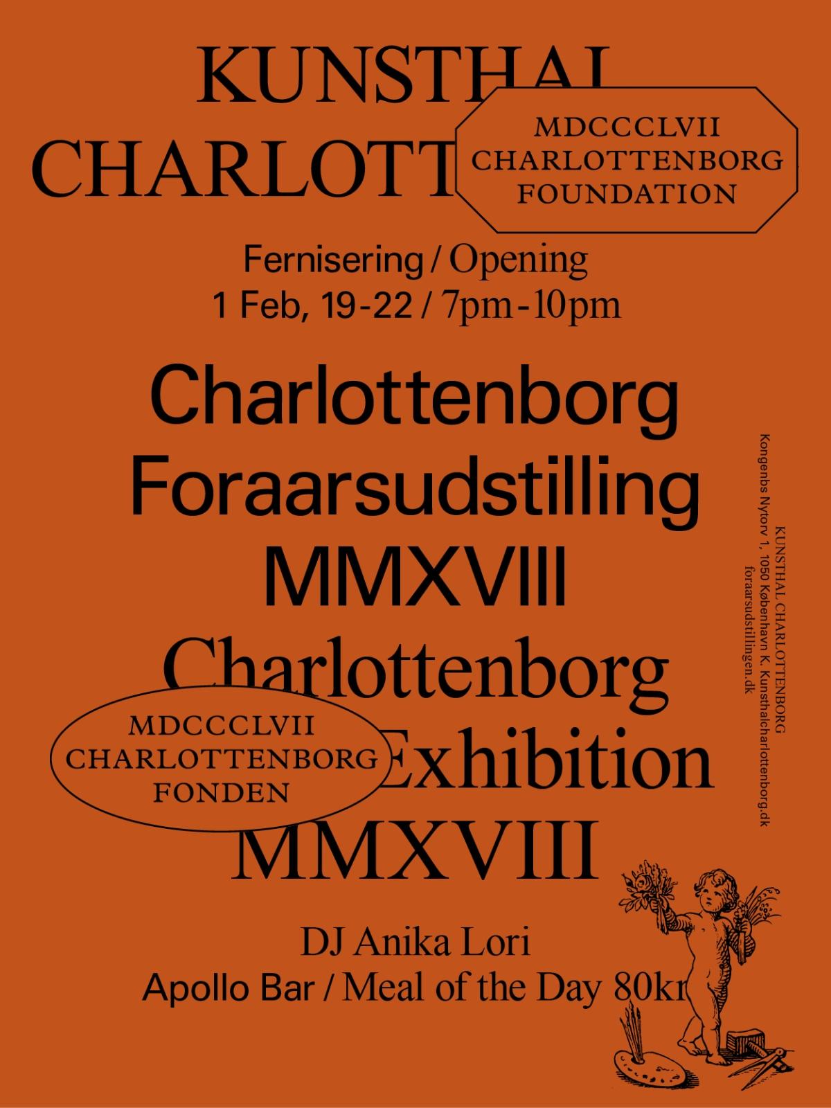 Charlottenborg Forårsudstilling 2018 – The Opening1/2
